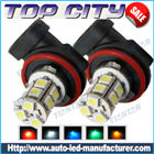 Topcity 13-SMD 5050 360-degree shine H11 Hyper Flux LED Bulbs For Fog Lights or Running Light Lamps - Fog Lights car led, Auto LED