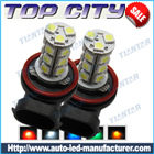 Topcity 18-SMD 5050 360-degree shine H11 Hyper Flux LED Bulbs For Fog Lights or Running Light Lamps - Fog Lights car led, Auto LED
