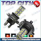 Topcity 18-SMD 5050 360-degree shine H4 Hyper Flux LED Bulbs For Fog Lights or Running Light Lamps - Fog Lights car led, Auto LED