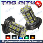 Topcity 27-SMD 5050 360-degree shine H7 Hyper Flux LED Bulbs For Fog Lights or Running Light Lamps - Fog Lights car led, Auto LED