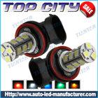 Topcity 18-SMD 5050 360-degree shine H8 Hyper Flux LED Bulbs For Fog Lights or Running Light Lamps - Fog Lights car led, Auto LED