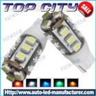 Newest Topcity T10 15SMD 3528 7LM Cold white - T10 LED