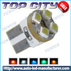 Topcity T10 4SMD 3528 7LM Cold white - T10 LED