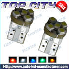 Newest Topcity T10 5SMD 3528 7LM Cold white - T10 LED