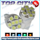 Newest Topcity T10 8SMD 3528 7LM Cold white - T10 LED