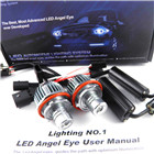 Xenon White E39 10W High Power LED BMW Angel Eyes Ring Marker Bulbs for BMW 5 6 7 8Series
