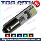 Topcity Newest Euro Error Free Canbus BA9S 2SMD 5050 Canbus 18LM Cold white - Canbus led