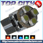Topcity Newest Euro Error Free Canbus T10 4SMD 3528 Canbus 7LM Cold white - Canbus led