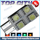 Topcity Newest Euro Error Free Canbus T10 4SMD 5050 Canbus 18LM Cold white - Canbus led