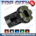 Topcity Newest Euro Error Free Canbus T10 6SMD 3528 Canbus 7LM Cold white - Canbus led
