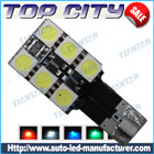 Topcity Newest Euro Error Free Canbus T10 6SMD 5050 Canbus 18LM Cold white - Canbus led