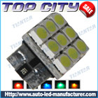 Topcity Newest Euro Error Free Canbus T10 9SMD 3528 Canbus 7LM Cold white - Canbus