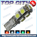 Topcity Newest Euro Error Free Canbus T10 9SMD 5050 Canbus 18LM Cold white - Canbus led