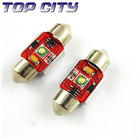 Topcity Newest Euro Error Free Canbus Festoon 1 HIGH Power cree R3 Canbus 31mm Cold white - Canbus LED