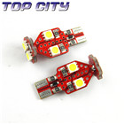 Topcity Newest Euro Error Free Canbus T10 6smd 5050 Canbus 23LM Cold white - Canbus led