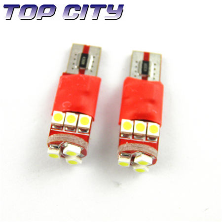 Topcity Newest Euro Error Free Canbus T10 9SMD 3528 Canbus 7LM Cold white - Canbus led