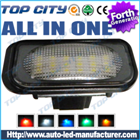 BENZ W203 4D Sedan Error Free LED License Lights : TT-License-Light-012
